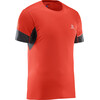 Salomon Agile SS Tee Men fiery red